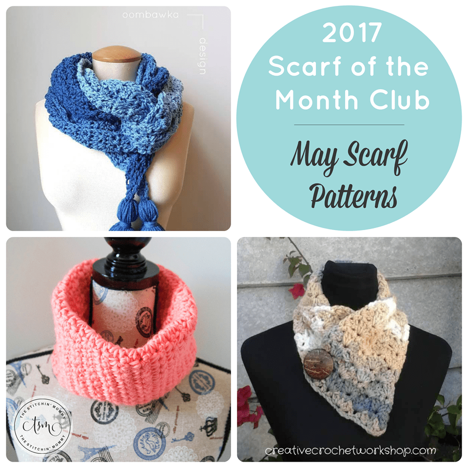 Scarf of the Month Club May 2017
