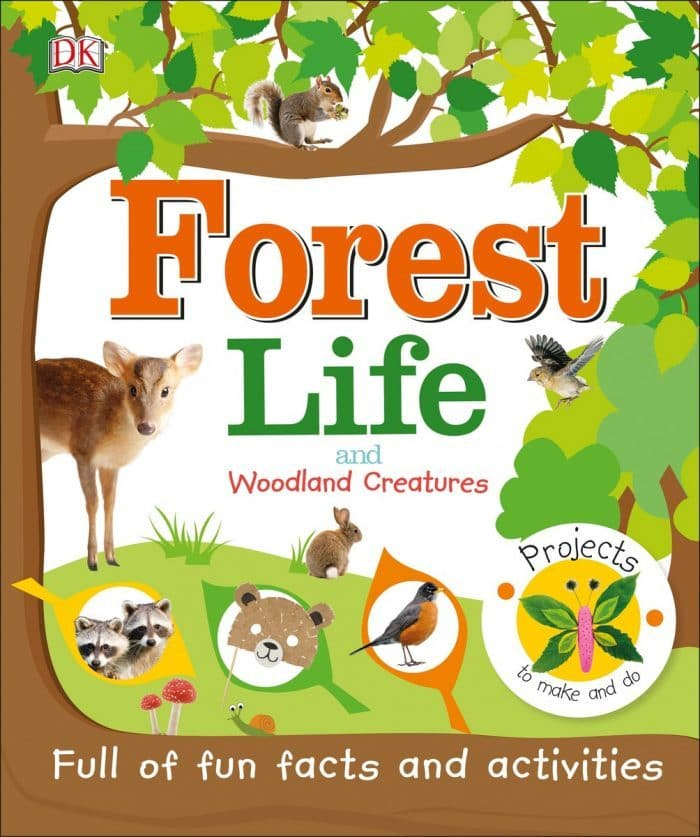 Forest Life and Woodland Creatures Book Review DK Canada