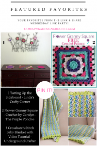 Featured Favorites: Crosshatch Stitch Baby Blanket Pattern