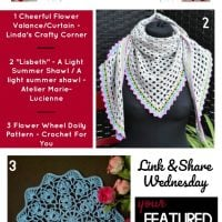 Featured This Week: Linda's Crafty Corner, Atelier Marie-Lucienne and Crochet for You!