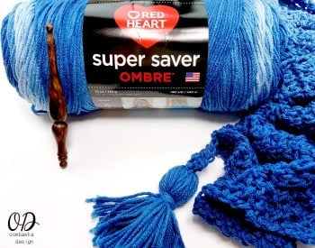 Furls Hook and RH SS Ombre Yarn