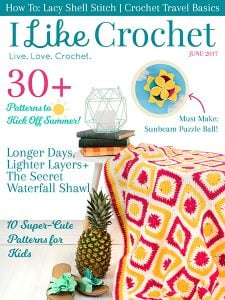 I Like Crochet June Issue 2017
