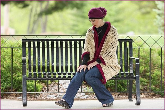 Granny Cocoon Cardigan CAL