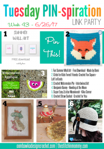Tuesday PIN-spiration Link Party Favorites