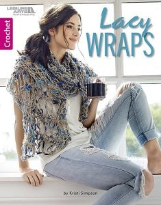 Lacy Wraps - Kristi Simpson - Leisure Arts - Review - cover