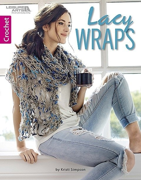 Lacy Wraps - Kristi Simpson - Leisure Arts - Review - cover