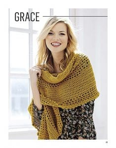 Grace. Lacy Wraps. Leisure Arts. Book Review. Oombawka Design Crochet.