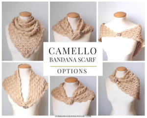 Camello Bandana Scarf Options