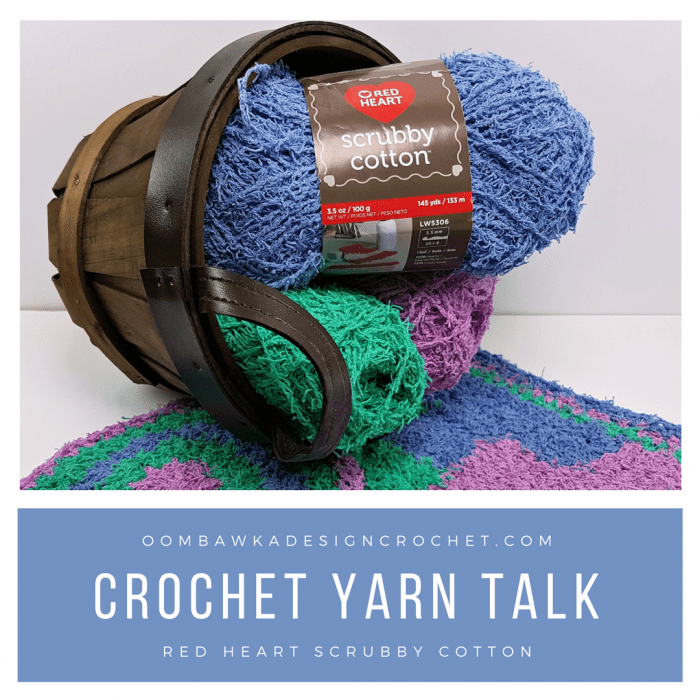 Crochet Yarn Review Scrubby Cotton