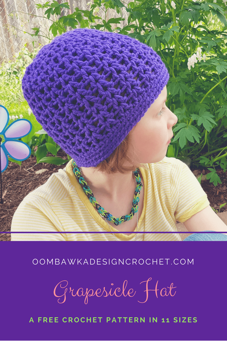 Grapesicle Hat A Free Pattern in 11 Sizes from Oombawka Design 2