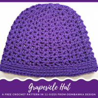 Grapesicle Hat – Free Pattern