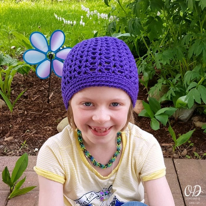 Grapesicle Hat Free Pattern Oombawka Design 11 sizes