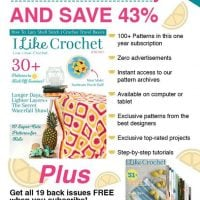 Limited Time Special Offer From I Like Crochet!