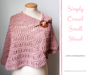 Simply Casual Small Shawl Pattern