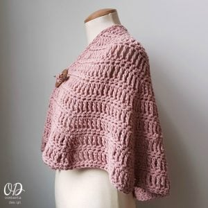 Simply Casual Small Shawl Free Pattern Oombawka Design