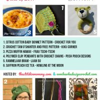 Featuring: Crochet For You, Kiku Corner, Frau Tschi-Tschi, Posh Pooch Designs, Laan 50 and Howling at the Moon!
