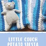 Little Couch Potato Siesta Blanket - A Free Crochet Pattern from Oombawka Design