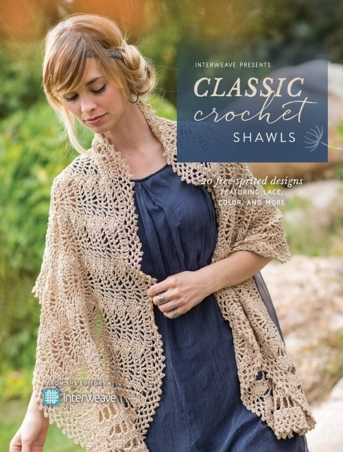 Classic Crochet Shawls Book Review 20 Beautiful and Feminine Shawl Designs.