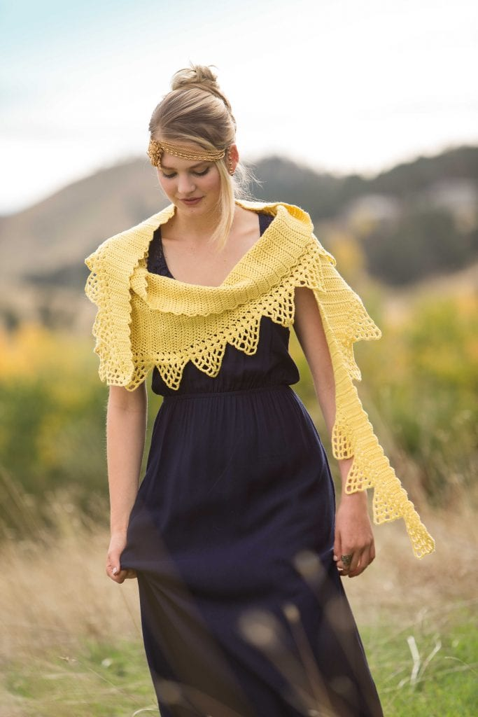 Jessamine - Classic Crochet Shawls
