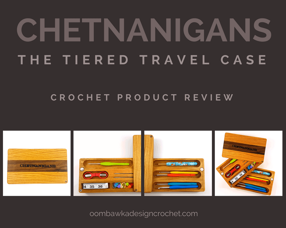 Chetnanigans New Tiered Travel Case Product Review Oombawka Design