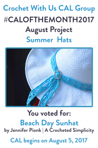 The Vote is In! Next Month's August CAL Project is…