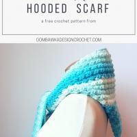 Faerie Mist Hooded Scarf – Free Pattern