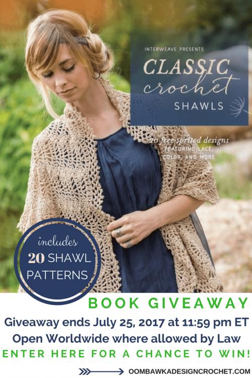 Giveaway Alert! Classic Crochet Shawls - Interweave Book