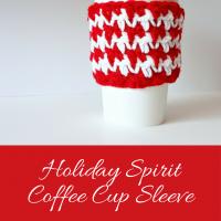 Holiday Spirit Coffee Cup Sleeve