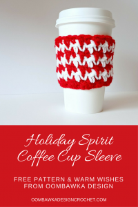 Holiday Spirit Coffee Cup Sleeve