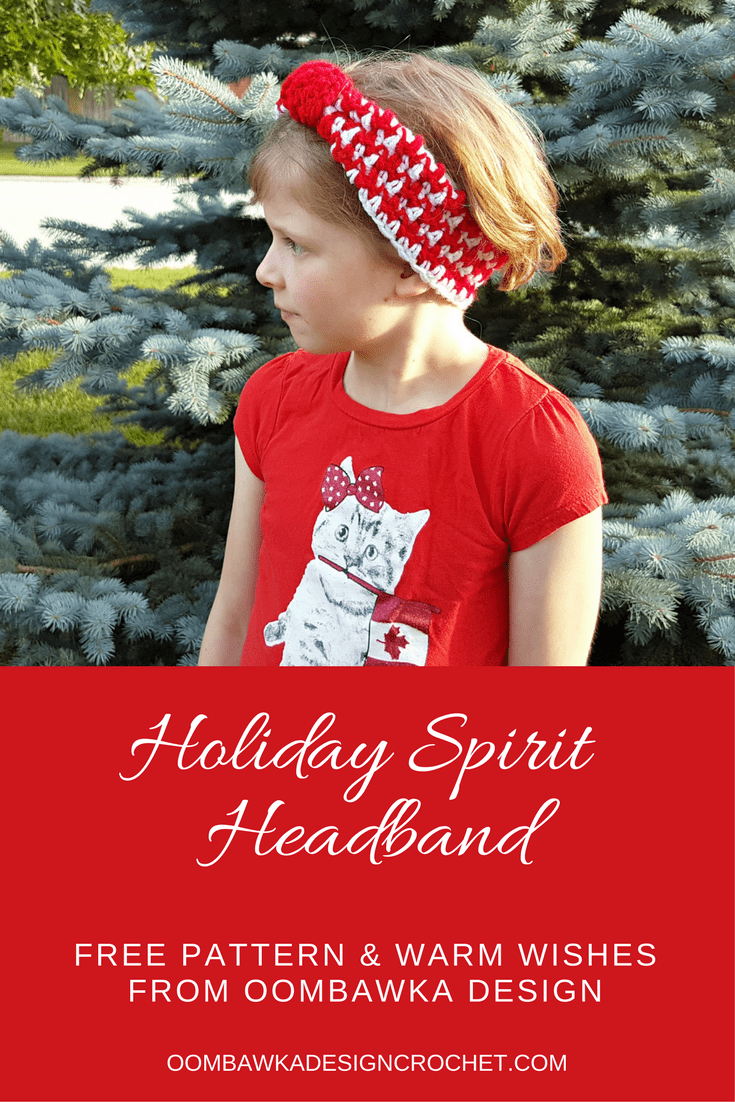 Holiday Spirit Headband #HolidayBlogHop2017