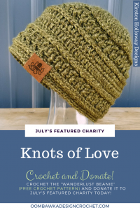 Knots of Love July Featured Charity of the Month