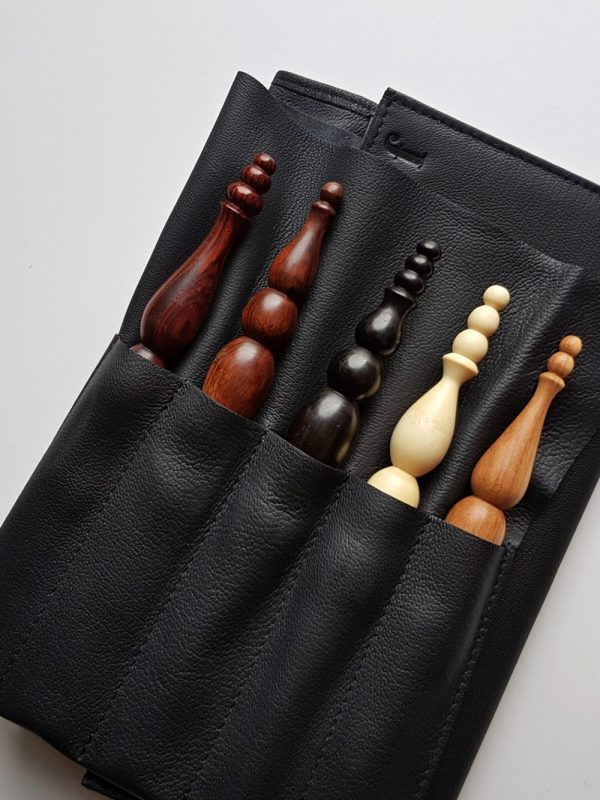 Oombawka Design Furls Leather Travel Clutch