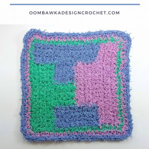 Polyomino-Puzzle-Dishcloth-Free-Pattern-Oombawka-Design sq
