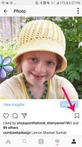 Saving to Instagram and Collections