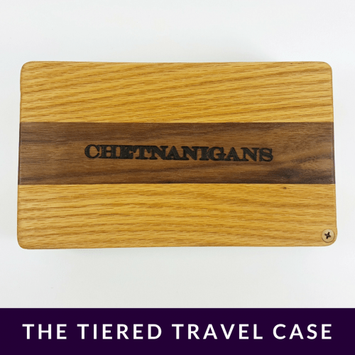 The Tiered Travel Case Chetnanigans New Tiered Travel Case Product Review Oombawka Design