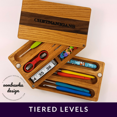 Tiered Levels Chetnanigans New Tiered Travel Case Product Review Oombawka Design