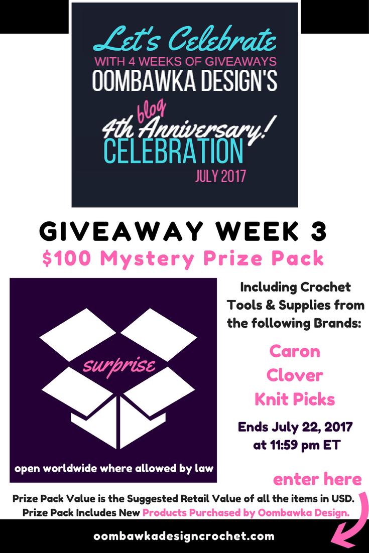 Week 3 Giveaway