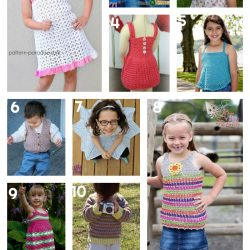 10 Free Crochet Patterns - Clothes for Kids - oombawkadesigncrochet collection