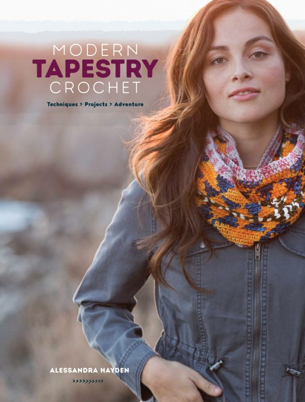 Modern Tapestry Crochet Cover Image - Interweave Review - Oombawka Design Crochet