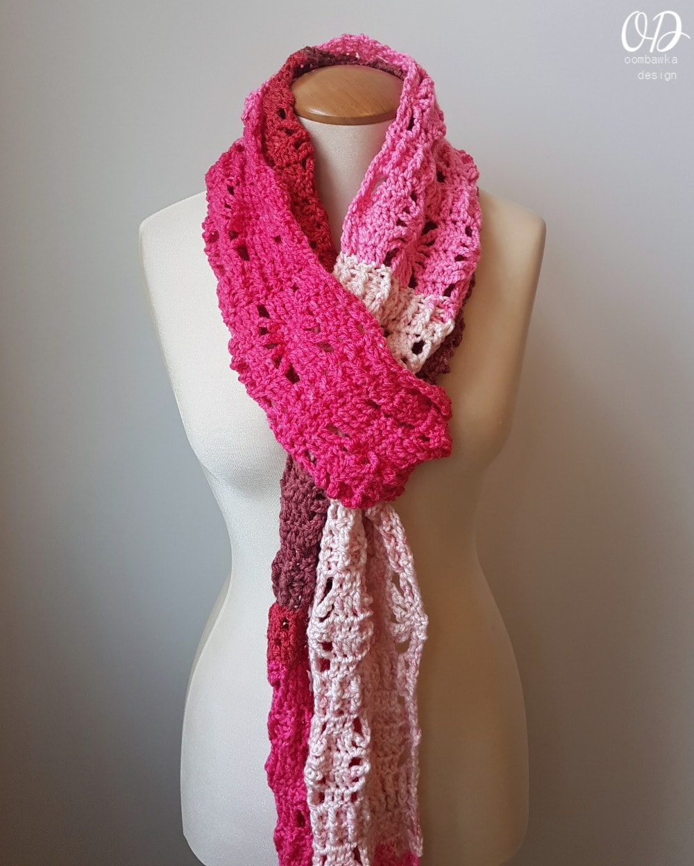 Posh Pink Scarf - AUGUST SCARFOFTHEMONTHCLUB2017 2