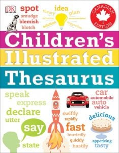 Childrens Illustrated Thesaurus Book Review Oombawka Design