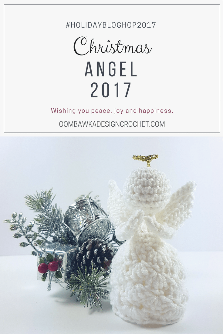 Christmas Crochet Angel Oombawka Design