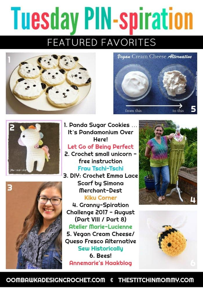 Featured Favorites Tuesday PIN-spiration Link Party Hosted by The Stitchin Mommy and Oombawka Design EVERY TUESDAY!