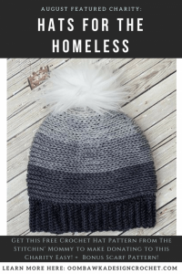 August's Featured Charity: Hats for the Homeless