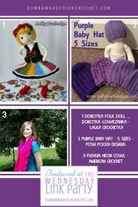 Featuring a Folk Doll Design from Lalka Crochetka