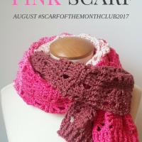 Posh Pink Scarf – August #SCARFOFTHEMONTHCLUB2017