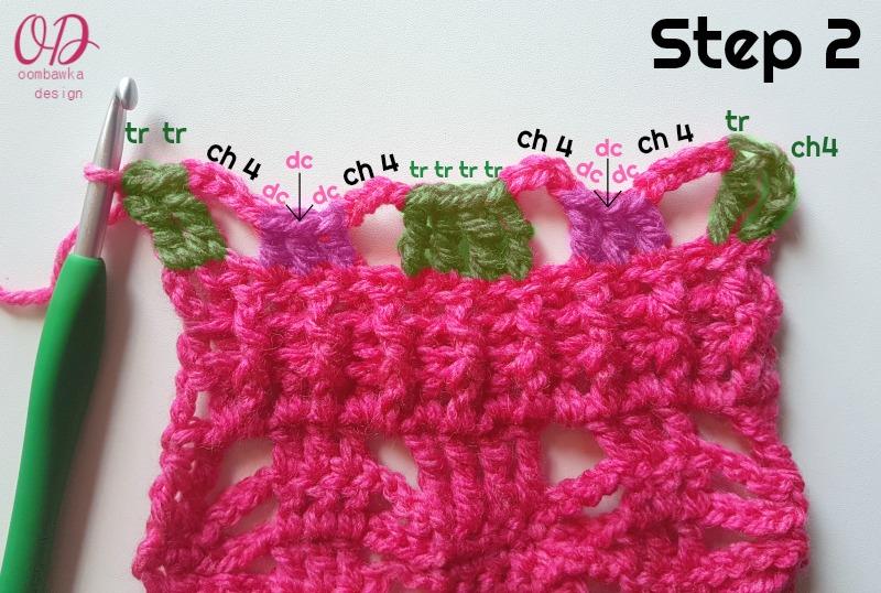 STEP 2 Posh Pink Scarf - ODC