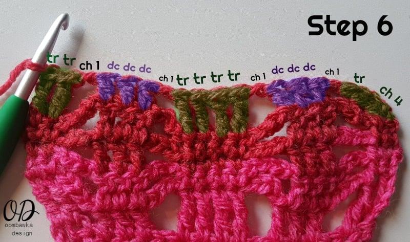STEP 6 POSH PINK SCARF - ODC