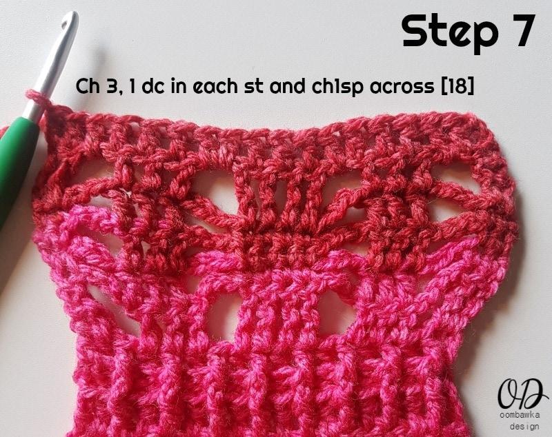 STEP 7 POSH PINK SCARF - ODC