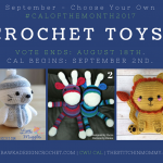 Vote for September's #CALOFTHEMONTH2017 Now! Our theme is Toys!